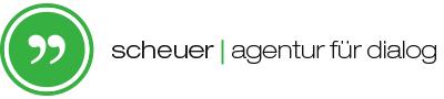 Scheuer - Agentur für Dialog